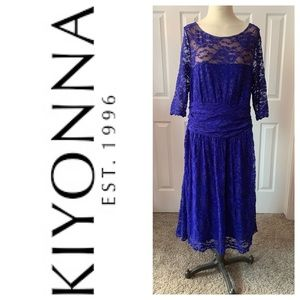 Kiyonna Luna Lace Dress 1X.